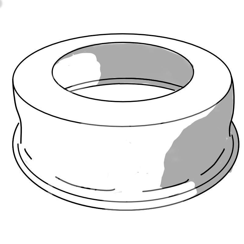 Brøndkrave aluminium